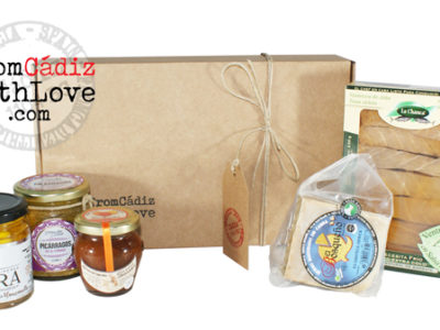 Cádiz gourmet products box 7