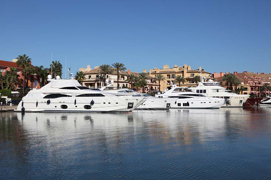 marina of Sotogrande
