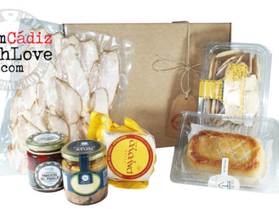 Cádiz gourmet products box 12