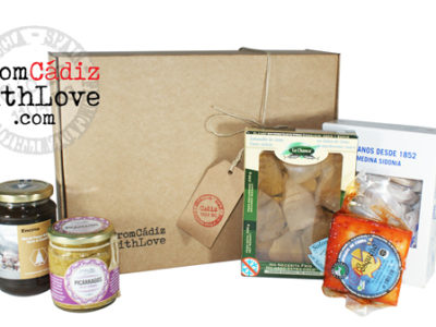 Cádiz gourmet products box 5