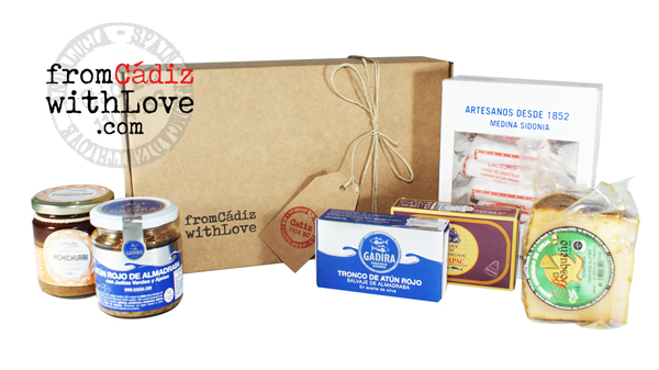 Cádiz gourmet products box 11