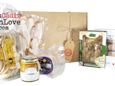 Cádiz gourmet products box 4