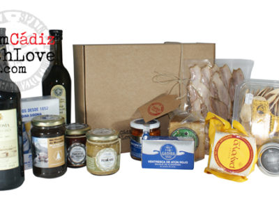 Cádiz gourmet products box 15